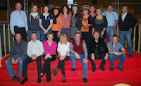 """Le comité """"sur le tapis rouge""""  Prochaine étape, le festival de cannes (pas la ville, l'accessoire:)))"""