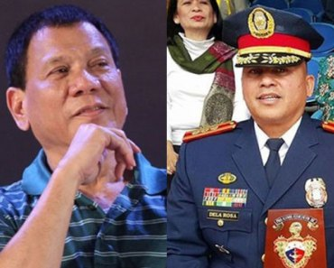 Image of President Rodrigo Duterte and Ronald dela Rosa