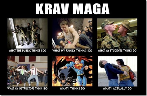 Krav What I think I do