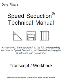Cover of Dave Riker's Book Speed Seduction Technical Manual