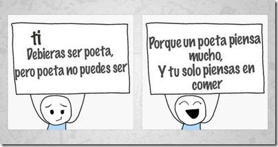 poeta e