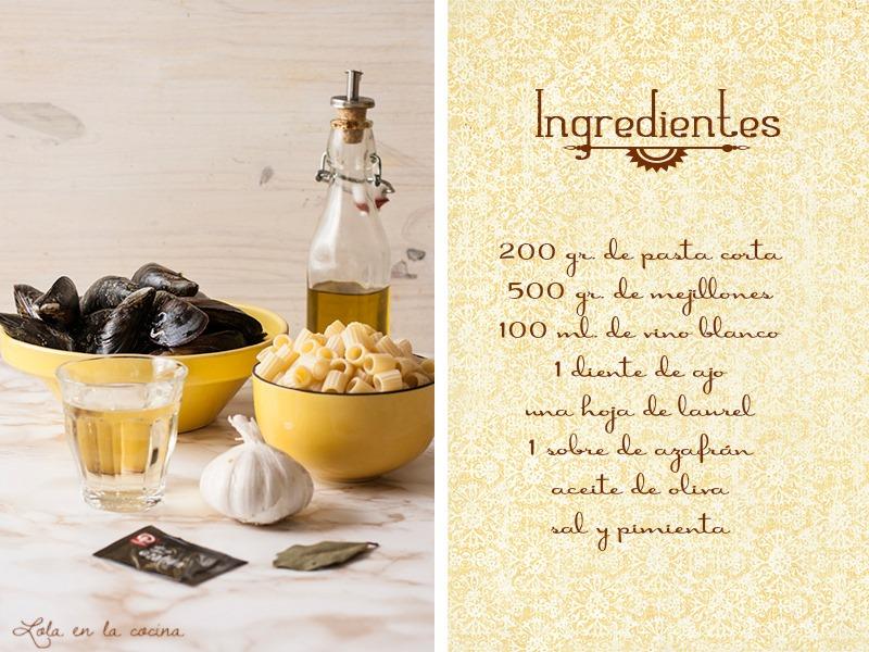 pasta-con-mejillones-ingredientes