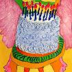 """""""Birthday Chair"""" Acrylic"""