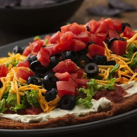 Seven-Layer Bean Dip