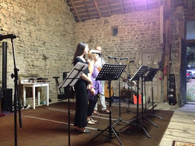 singing, runaway, music night, concert, Creuse, Limousin,