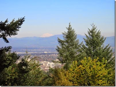 IMG_9209 View of Mount Adams from Council Crest Park in Portland, Oregon on October 23, 2007