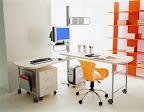 scrivania doppia girevole