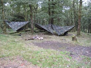 Yes we had hammocks