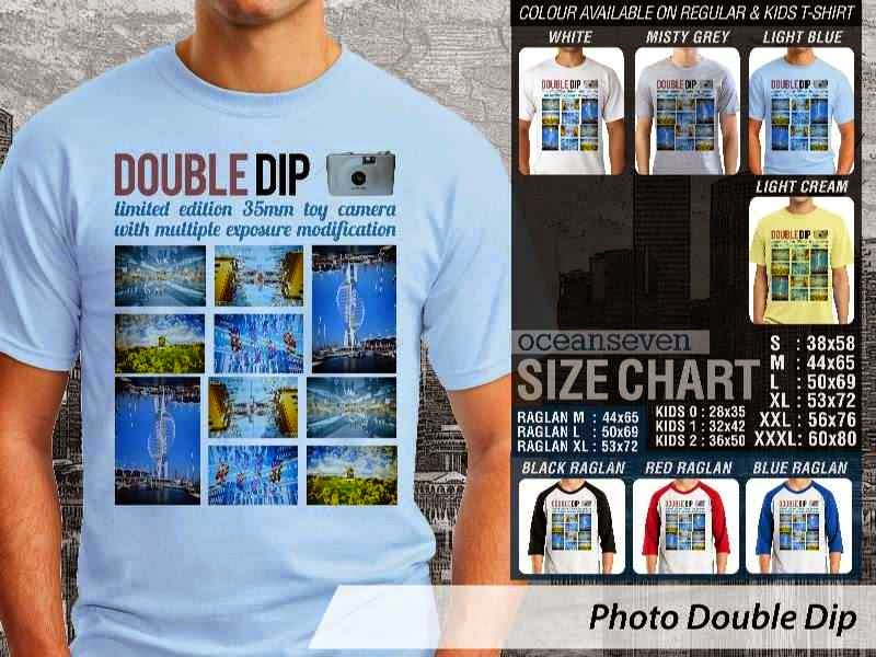 Kaos Photography Mania Photo Double Dip distro ocean seven