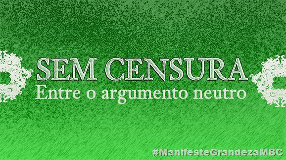 SEM CENSURA manifesto 00