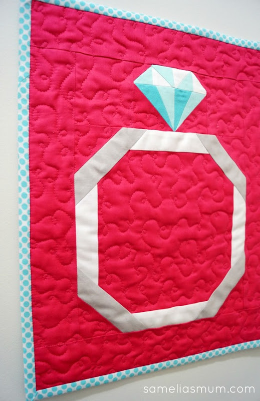 A Brilliant Cut - Mini Quilt 1