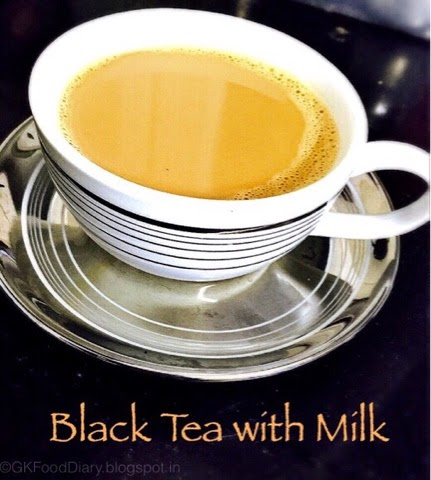 Black Tea with Milk Recipe