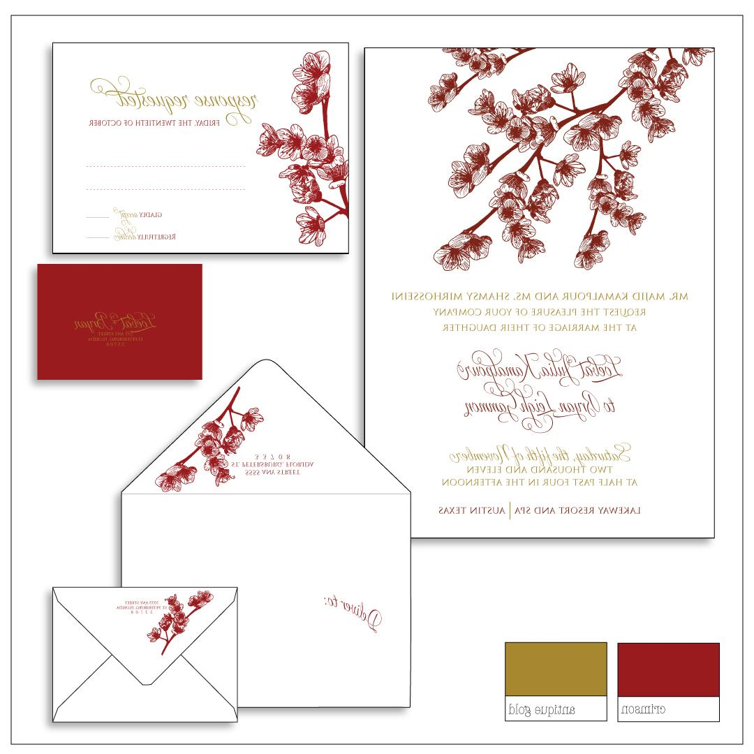 Cherry Blossom Wedding Suite