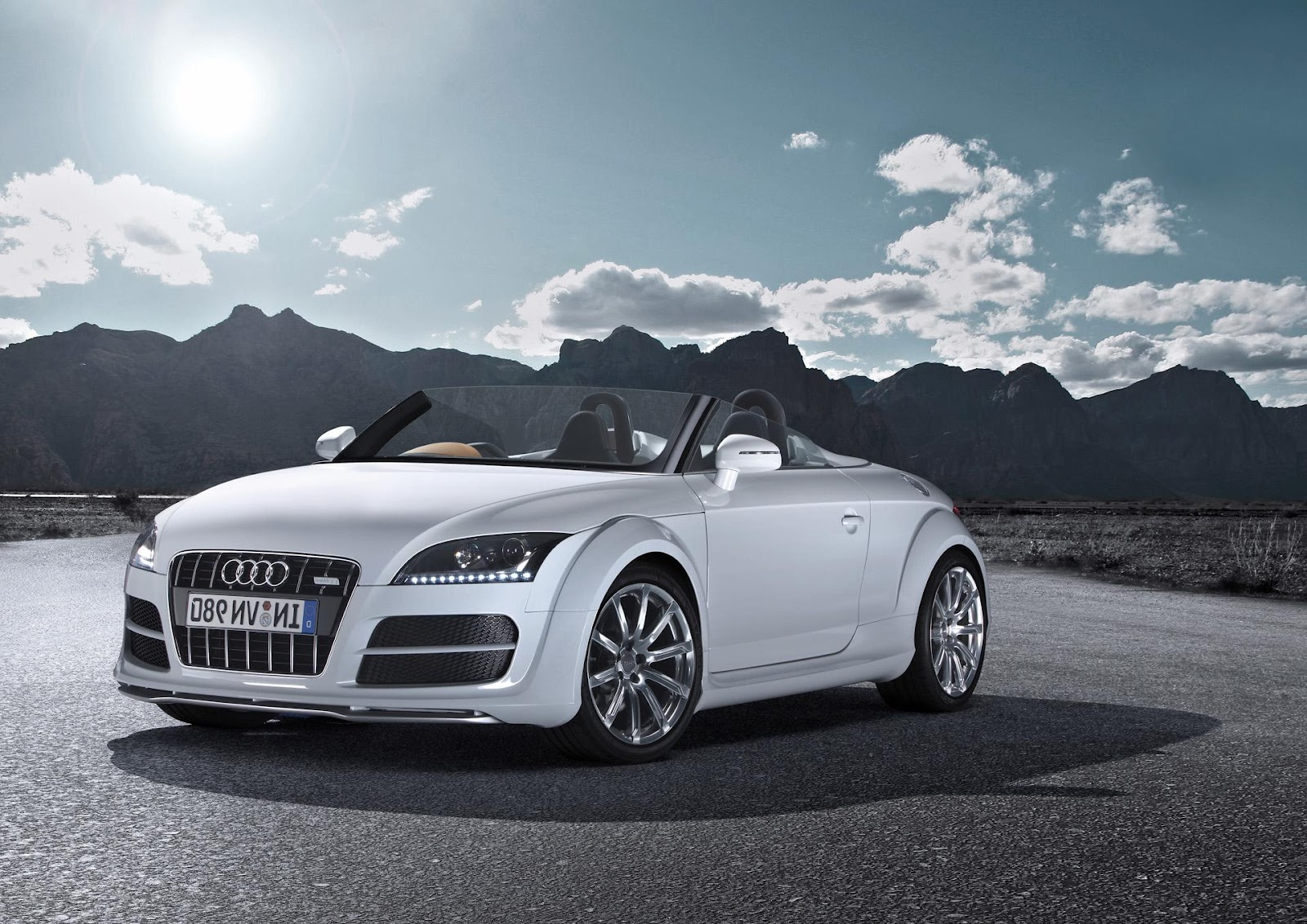 Audi Tt White Convertible