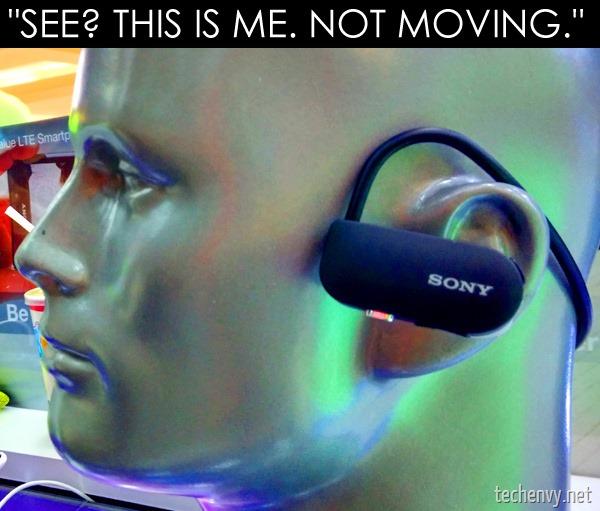 Sony runner earphones