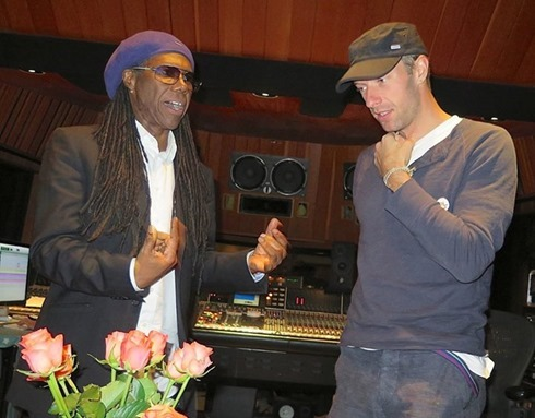 Nile Rodgers Chris Martin
