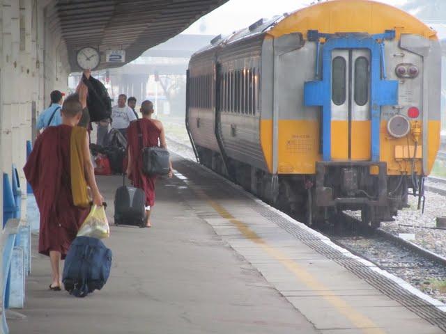 Train from Butterworth to Bangkok