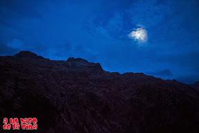 La luna está casi llena. © aunpasodelacima