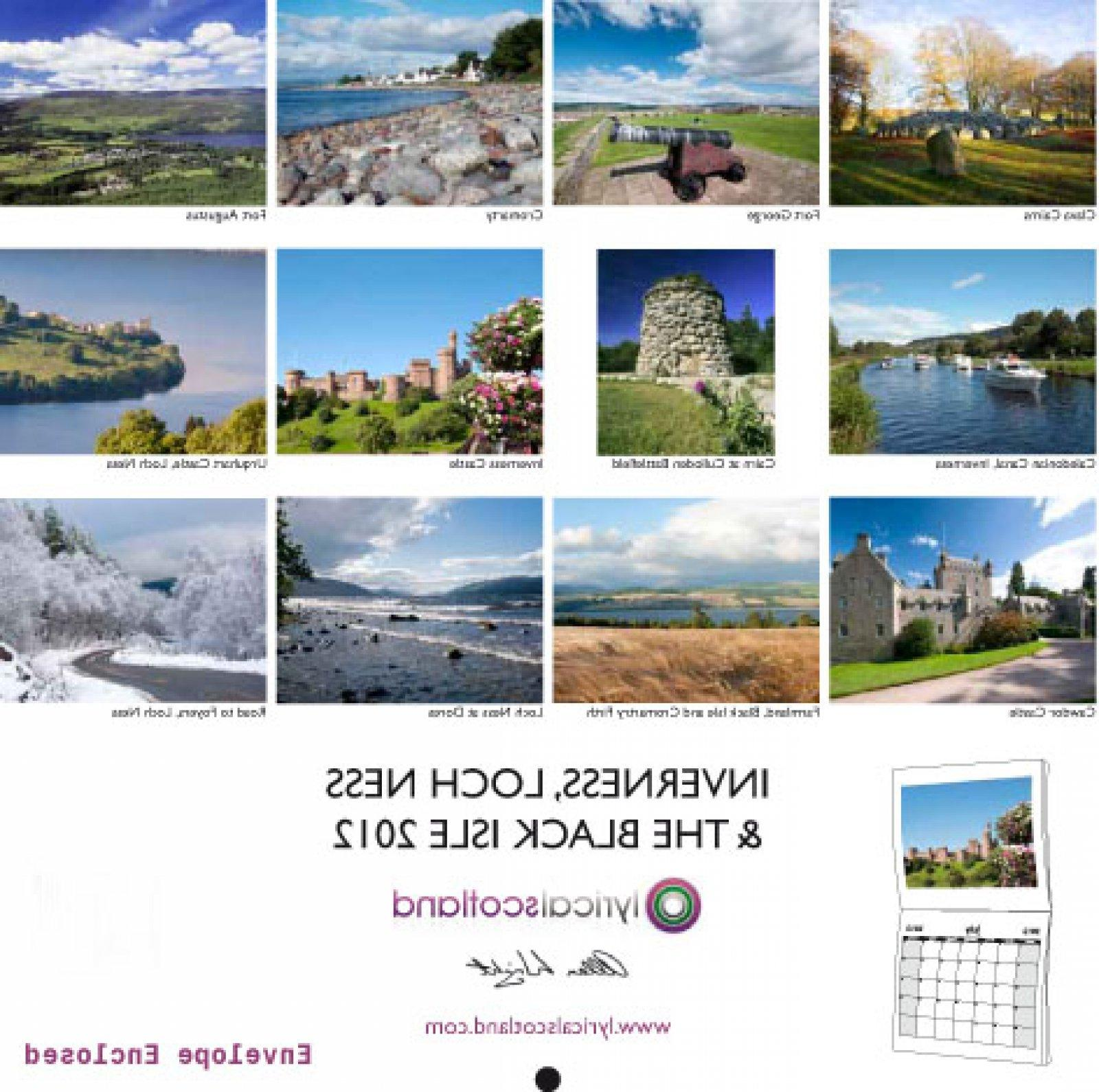 Black Isle_1 2012 Calendar