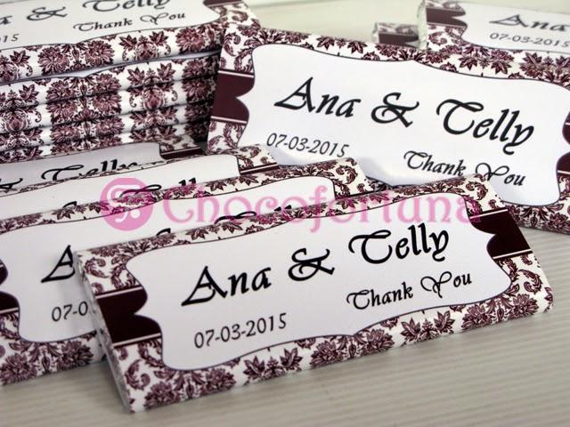 Cokelat coklat chocobar souvenir wedding pernikahan