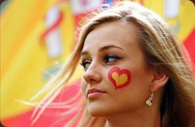 aficionada-guapa-sexy-la-roja-seleccion-española-eurocopa-2012