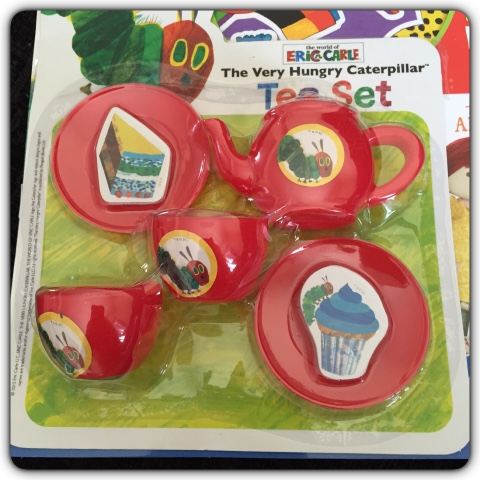 hungry caterpillar tea set