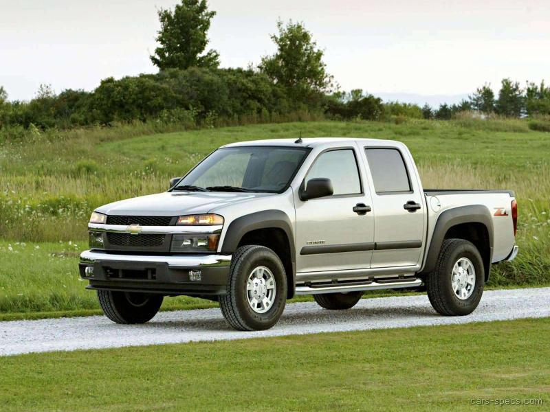 2005 chevrolet colorado crew cab specifications pictures prices. Black Bedroom Furniture Sets. Home Design Ideas