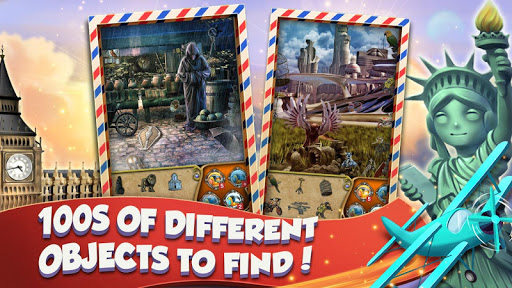Hidden Objects World Tour - Search and Find For PC