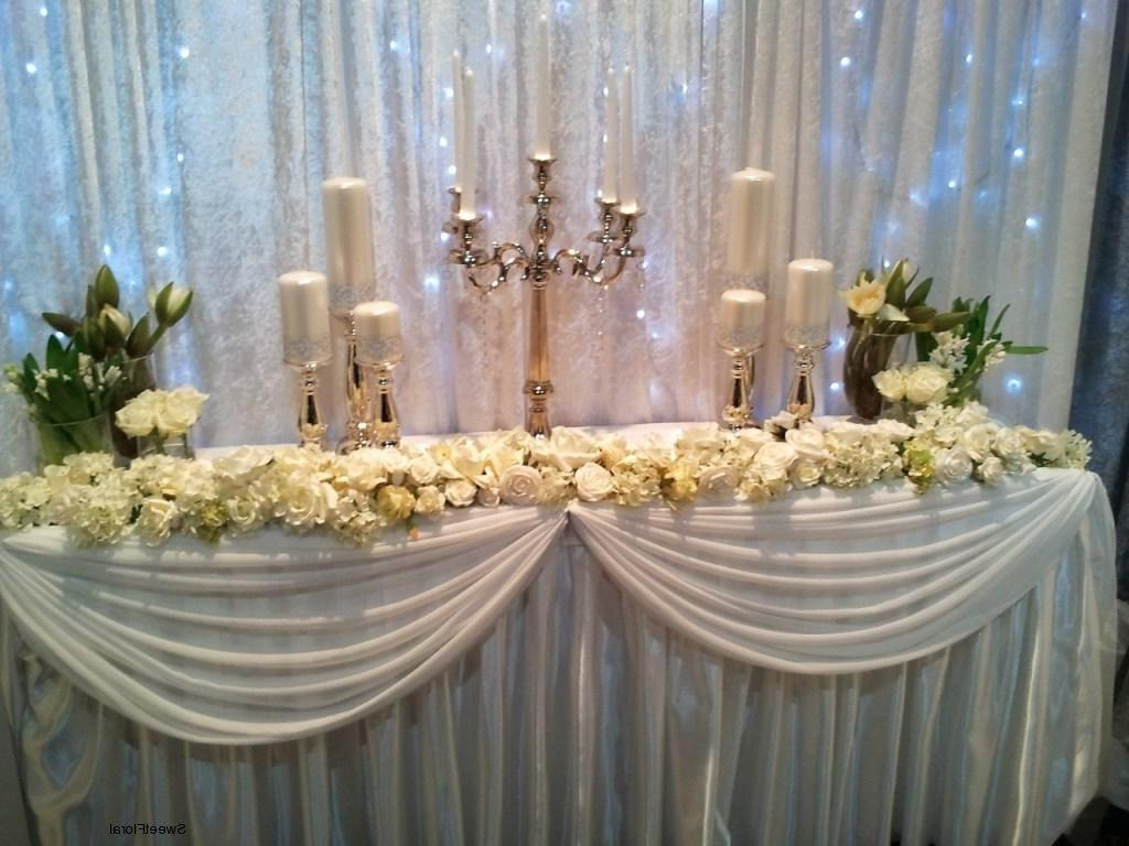 Bridal Table Floral