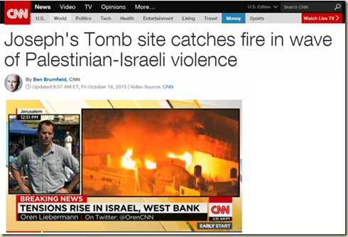 cnn%20josephs%20tomb%20site%20catches%20fire%202