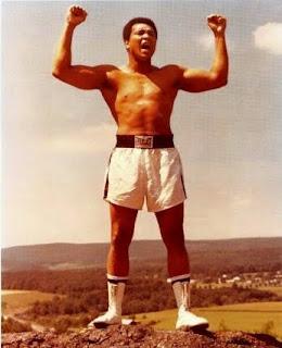 Image of The Legendary Boxer Muhammad Ali