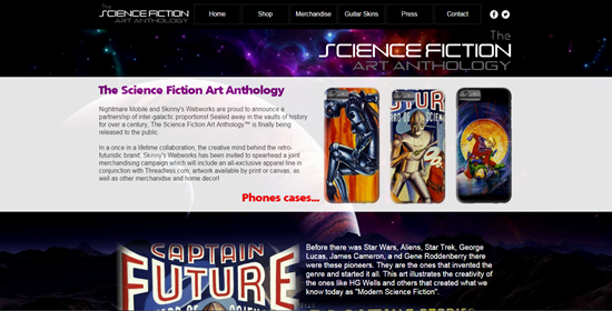 scifi-anthology-website