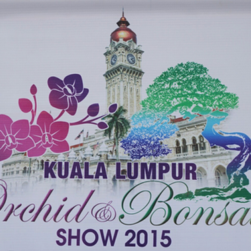 Jom ke Kuala Lumpur Orchid and Bonsai 2015