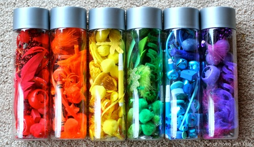 Raibow Discovery Bottles