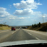 on route to Cheltenham Badlands in Ontario, Canada in Caledon, Ontario, Canada