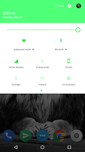 Arzia Light CM Theme - Green- screenshot thumbnail