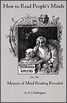 Cover of Banachek's Book How To Read People Minds