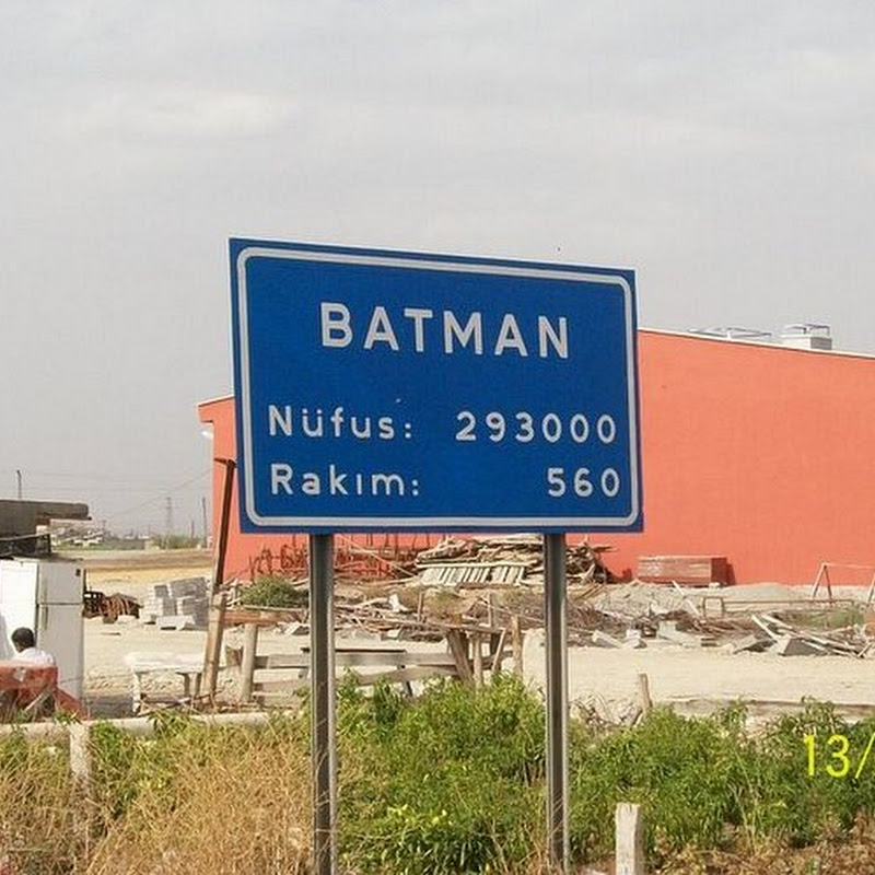 The City of Batman, on Batman River in Batman Province