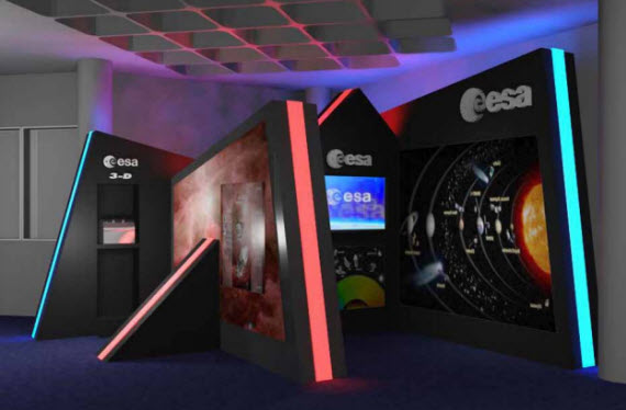 Un centro incubador de empresas de la Agencia Espacial Europea (ESA)