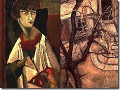 Jeanne-Hebuterne-Autoportrait-and-Cour_datelier
