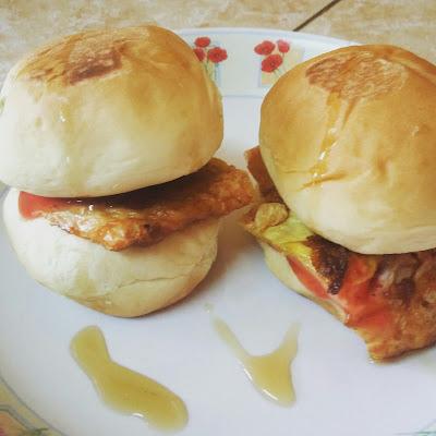 Sarapan mudah dan sedap, Mini burger, Bahan-bahan Mini Burger, Cara-cara penyediaan Mini Burger