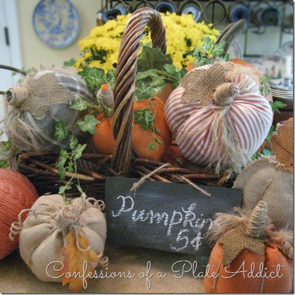 CONFESSIONS OF A PLATE ADDICT DIY Pumpkin Patch Centerpiece