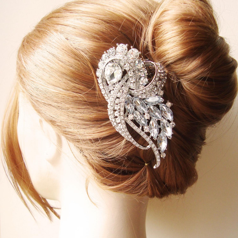 art deco hair wedding style