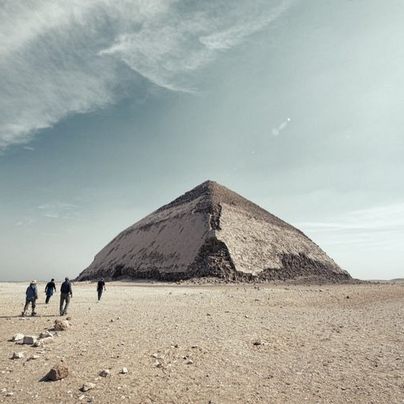 The Bent Pyramid of Dahshur