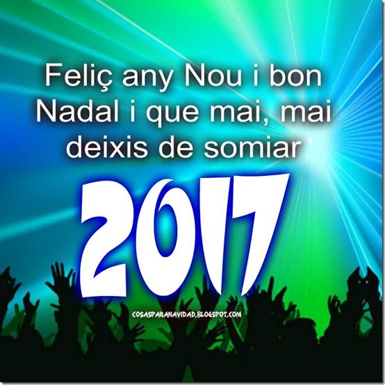Feliç any Nou i bon Nadal i que mai, mai 2017