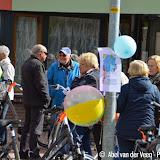 Stolpersteine fietstocht door Pekela - Foto's Abel van der Veen en Peter Helwerda