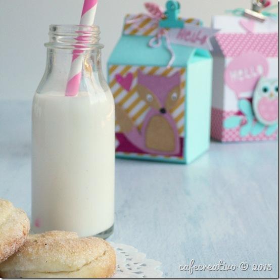 Milk box Sizzix - Big Shot Plus - Die Cutting - Packaging - Favors - Bomboniere - by cafecreativo