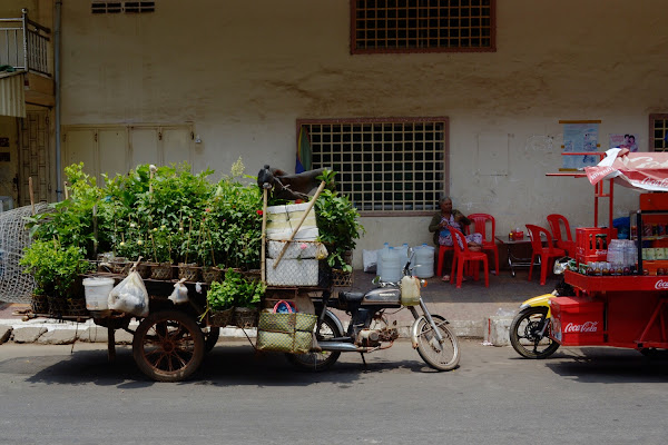 улочки Кампонг Чам