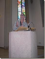 Rede in der Kirche Homburg 003