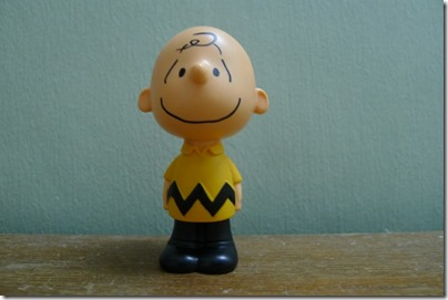 McDonald's happy meal X The Peanuts Movie 2015 toys: Charlie Brown